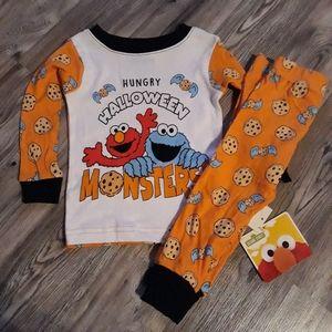 Sesame Street Halloween Pajamas